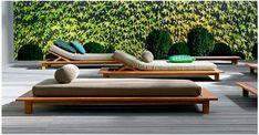 Lounge bed van de InOut Gervasoni