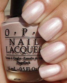 45 Beautiful Women Style 2019 with Type Opi Nail Polish – Fancy Nails Opi Nail Polish Colors, Opi Nails, Opi Polish, Nail Polishes, Neutral Nail Polish, Opi Colors, Toe Nail Color, Sinful Colors, Wedding Manicure