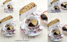 How to make Earl Grey and Chocolate Shortbread Teabag Cookies, the perfect treat for your next tea party. Earl Grey Tea, Shortbread, Melting Chocolate, No Bake Cake, Tea Party, Dairy Free, Tea Cups, Baking Cakes, Catering Ideas