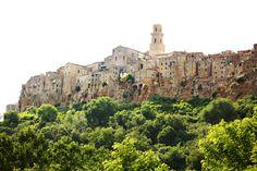 Pitigliano in Tuscany, Italy.