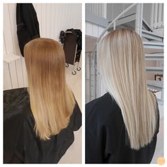 soft natural blonde with highlights
