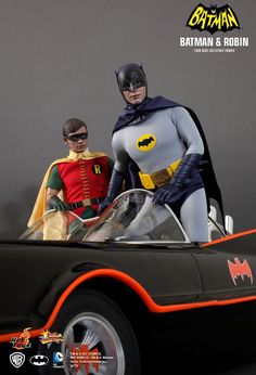 Batman and Robin collectible figures