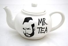 Mr. Tea... ha!  We need one for our next tea party @Darcy Banks!