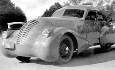 GAZ-A-Aero, designed by Alexei Nikitin Osipovich, 1934  These Soviet Concept Vehicles Are Clearly From An Alternate Universe
