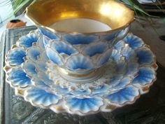 Lovely Vintage Tea Cup And saucer. $18.00, via Etsy.