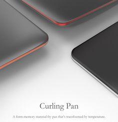 Curling Pan on Behance