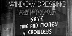 Window Dressing JNL font download