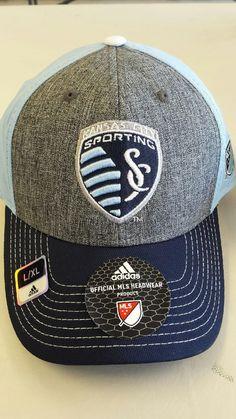 premium selection da3c4 27790 Sporting Kansas City Men s Stretch Fit Hat by adidas www.shopmosports.com