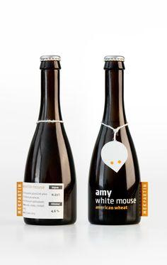 Amy White Mouse, la cerveza producida por un diseñador
