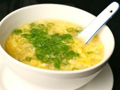 Egg Drop Soup via Serious Eats Serious Eats, Appetizer Recipes, Soup Recipes, Cooking Recipes, Soup Appetizers, Lunch Recipes, Asian Recipes, Healthy Recipes, Restaurant