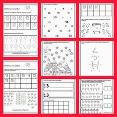 Νηπιαγωγός απο τα Πέντε: ΑΝΑΓΝΩΡΙΣΗ ΑΡΙΘΜΩΝ 0-10 Water Cycle, Periodic Table, Classroom, Activities, School, Photos, Blog, Crafts, Preschool Printables