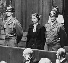 Nuremberg trials- Herta Oberheuser was the only female defendant in the Nuremberg Medical Trial, where she was sentenced to 20 years in jail.    [edit] Release from prisonShe was released in April 1952 for good behavior and became a family doctor in Stocksee, Germany. She lost her position in 1956, after a Ravensbrück survivor recognized her, and her license to practice medicine was revoked in 1958. She died in January 1978 at the age of 66.
