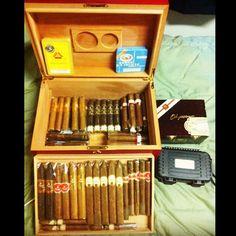 I enjoy cigars.