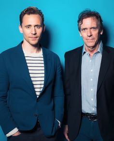 Tom Hiddleston and Hugh Lurie at Deadline's The Contenders Emmys event on April 10, 2016. Source: http://deadline.com/gallery/photos-the-contenders-emmys-kerry-washington-bryan-cranston-chelsea-handler-krysten-ritter-and-more/#!28/tom-hiddleston-hugh-laurie-the-nightmanager/ Higher resolution image (from Tom Hiddleston US): http://www.tomhiddleston.us/gallery/albums/2016/events/deadlinephotoshoot/002.jpg