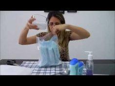 Como Fazer Lenço Umedecido Caseiro! - YouTube