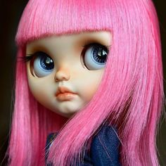 Custom Doll for Adoption by @odddollnatasha / OddDoll CHECK HERE http://etsy.me/2z9xAef #blythe #dollycustom #blythecustom #blythecustomizer #ooakblythe #customblythe #kawaii #doll #artdoll #dollstagram #blythestagram #blythelover #ブライス