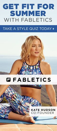 92ecc94faf GET FIT FOR SUMMER WITH FABLETICS BY KATE HUDSON & OUR EXCLUSIVE VIP OFFER  - GET