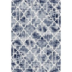 You'll love the Infinity Blue Area Rug at Wayfair - Great Deals on all Rugs  products with Free Shipping on most stuff, even the big stuff.