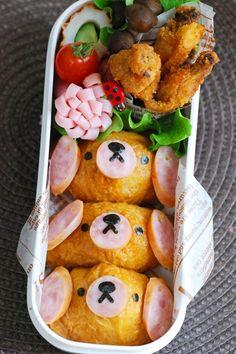 Bento puppies box      #food #bento