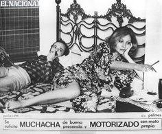 """""""Se solicita muchacha de buena presencia y motorizado con moto propia"""" (1977). Caracas, 15-06-1980 (ARCHIVO EL NACIONAL)"""