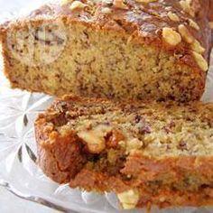 Vetarm bananenbrood @ allrecipes.nl