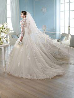 Vestido de novia, modelo Halivert de St. Patrick 2014  www.sanpatrickgranada.es