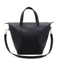 Cuyana Small Zipper Tote in Black