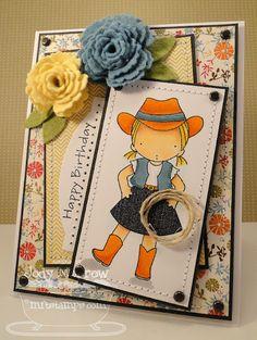 Confessions of a Ribbon Addict: MFT - cowgirl w/her lasso