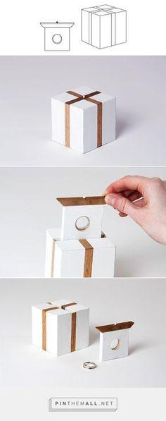 Caja para sortija de compromiso