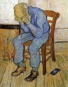 oeuvre d'art qui montre la tristesse - Recherche Google