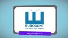 Lei av dyre Tannleger? Billig tannlege i Oslo ( Eurodent) gjennomfører diverse tannbehandlinger.   https://www.youtube.com/watch?v=CrSw681fWMs