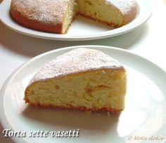 Torta sette vasetti (torta allo yogurt), ricetta senza burro