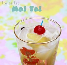 perfect Mai Tai drink recipe for summer