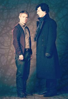 Johnlock - John and Sherlock (BBC Sherlock)