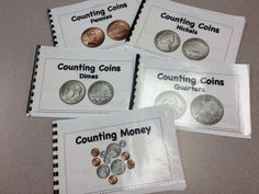 These are our little books that are included in our money bundle. You also get a great coin chart,games, puzzles and a rap on coin identification as well as a step by step lesson plan for 4 weeks. $  Check out bundle on our TPT store. Just go to teacherspayteache... and type SOL Train Learning. These books are in our Money Activities Bundle