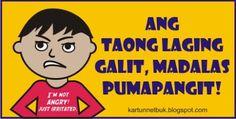 ang taong laging galit pumapangit cartoon Jarvis Iron Man, Tagalog, Art Memes, House Plans, Palette, Collections, Cartoon, How To Plan, Comics