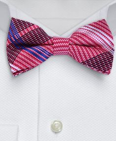 Gentleman Joe Sparkly Pink Crystal Bowtie Multicolored