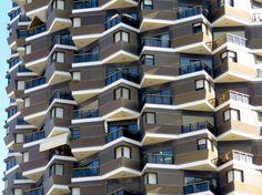 Angled Apartments of Tel Aviv, Israel - by Anika Mikkelson - Miss Maps - www.MissMaps.com