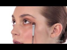 Aveda Makeup Tutorial: Illuminate your eyes with shimmering patinas.