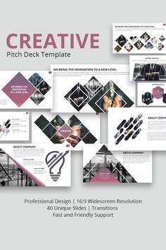 Creative is a modern and professional presentation. If you want to present your business in a modern and stylish way then this is the right presentation for Creative Presentation Ideas, Presentation Design, Professional Presentation, Wedding Brochure, Business Brochure, Powerpoint Slide Templates, Album Design, Brochure Design, Interface Design