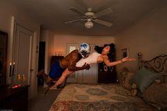 Des athlètes sont parmi nous : la série photo géniale de Jordan Matter   Glamour