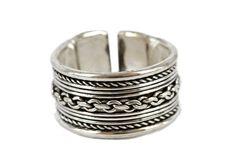 Belle bague ethnique homme et femme -silver ring