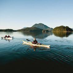 Kayaking in Clayoquot Sound, British Columbia - Condé Nast Traveler