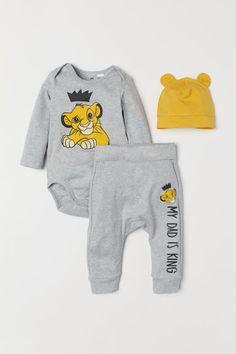 YUNY Kids Baby Boys Girls Cartoon Long Sleeve Rabbit Romper Outfits Grey 66