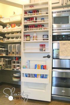 #22. Make extra pantry shelving on the inside of the door! | 29 Sneaky Tips For Small Space Living