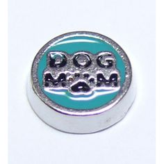 Dog Mom Locket Charm that fits brands including Origami Owl & My Journey Locket. Enamel Peacock on zinc alloy. Great looking charms that don't cost a fortune.
