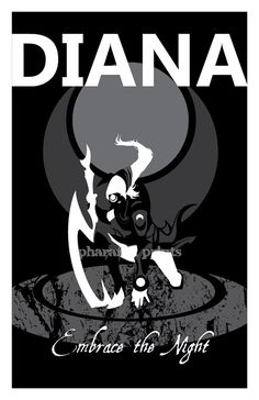 Diana: League of Legends Print by pharafax on Etsy