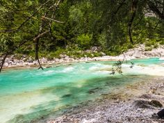 An der Soca in der Nähe von Camp Soca Seen, River, Outdoor Decor, Holiday Destinations, Destinations, Campsite, Travel Report, National Forest, Environment