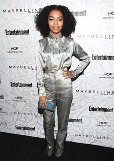 Yara Shahidi Photos Photos - Entertainment Weekly Celebrates the SAG Award Nominees at Chateau MarmontSsponsored by Maybelline New York - Arrivals - Zimbio Grunge, Sophie Theallet, Babe, Sag Awards, Fire Heart, Cool Style, My Style, Entertainment Weekly, Celebrity Look