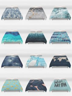Society6 Blue Duvet Covers - Society6 is home to hundreds of thousands of artists from around the globe, uploading and selling their original works as 30+ premium consumer goods from Art Prints to Throw Blankets. They create, we produce and fulfill, and every purchase pays an artist.